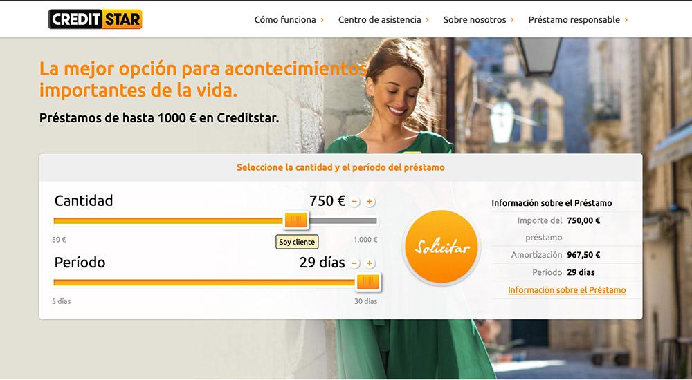 Creditstar сrédito rápido