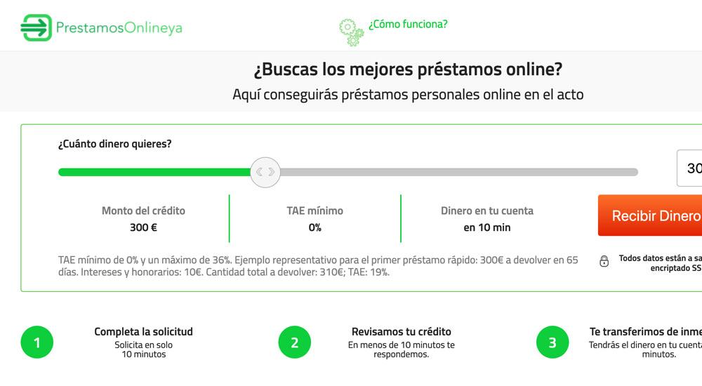 PrestamosOnlineYa préstamo online